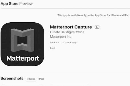 Návod na Matterport
