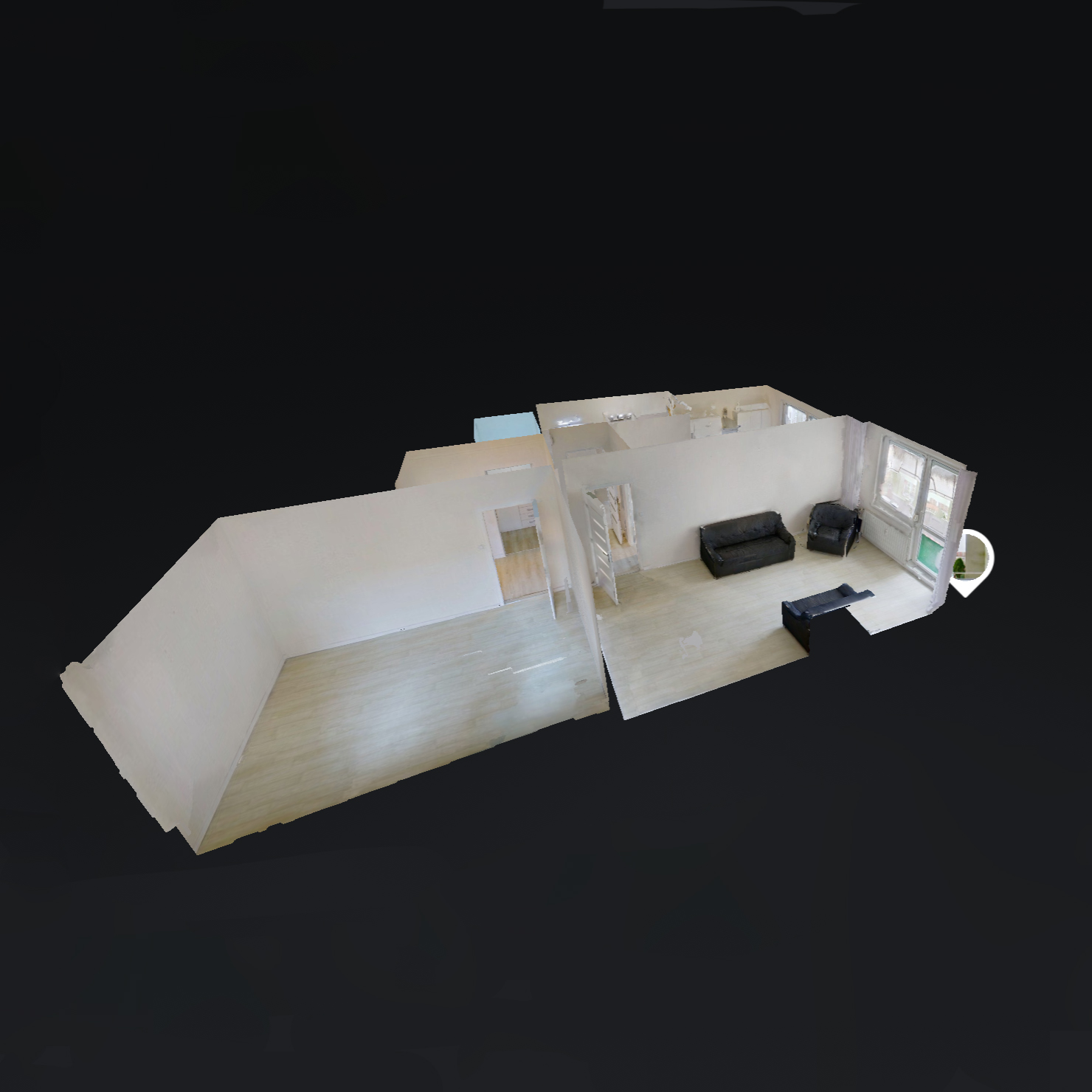 Virtuálna prehliadka matterport