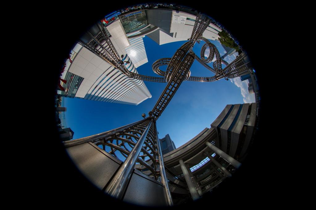 Aký objektív na 360 panorámu