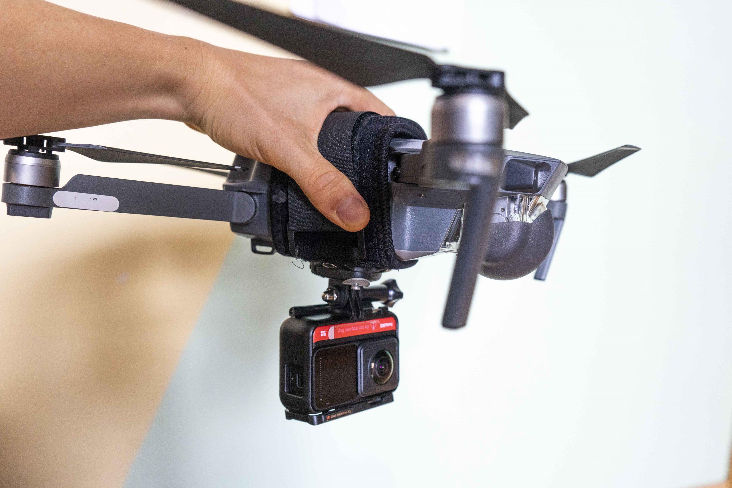 Dron pri tvorbe virtuálnej prehliadky