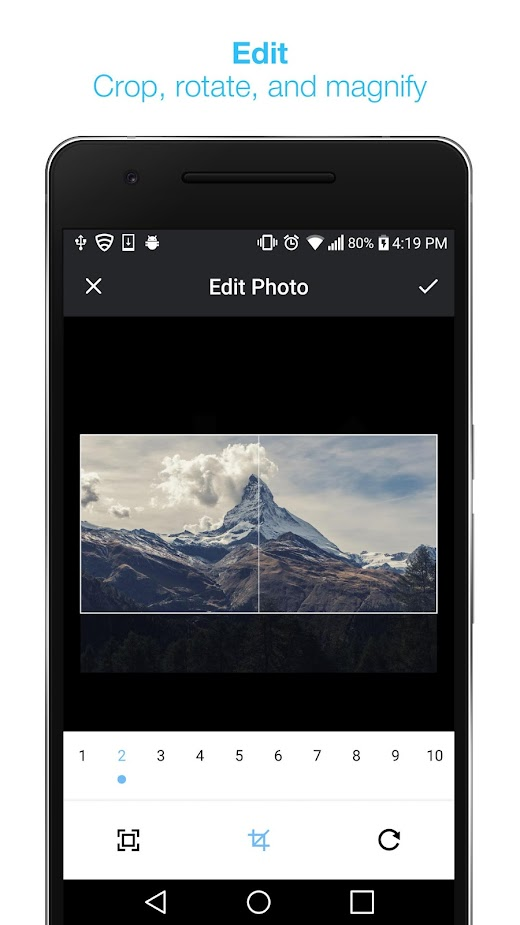 Ako pridať 360 fotku na sociálne siete